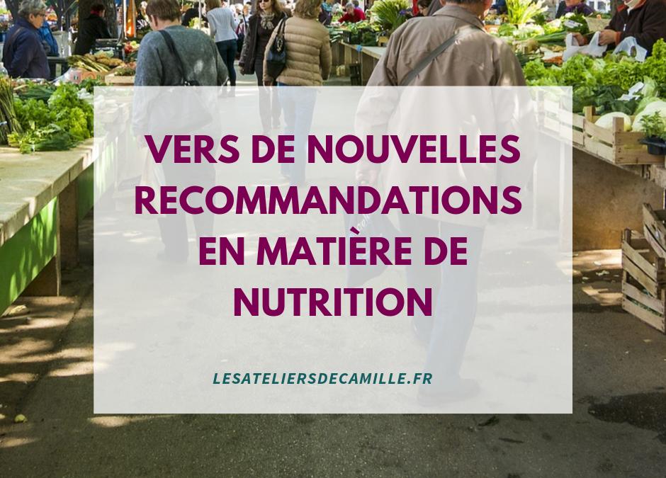 Bientôt un nouveau programme nutrition santé