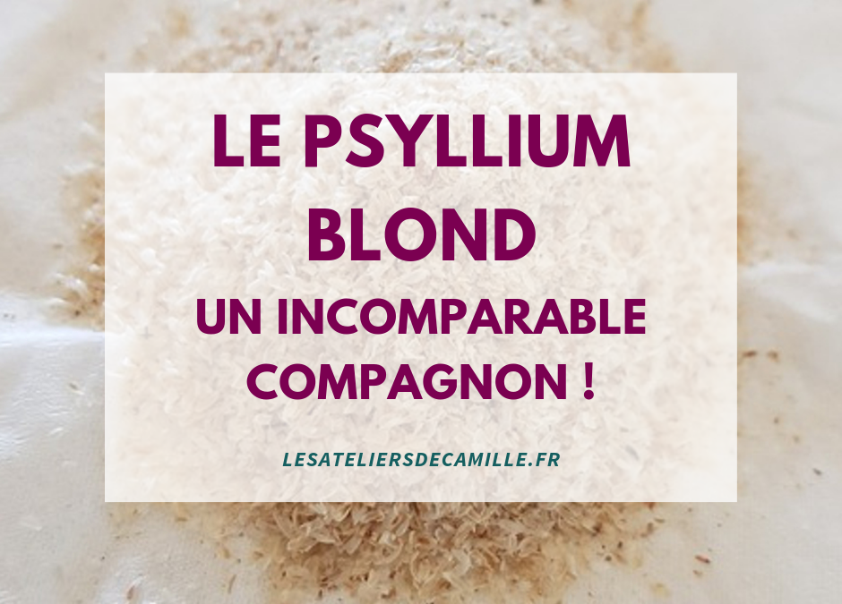 Le Psyllium Blond, un incomparable compagnon